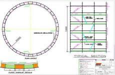 System Scaffold- Storage Tank